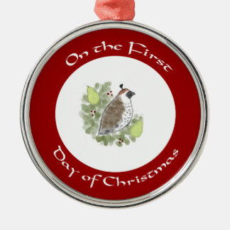 Pears & Partridge First Day of Christmas Ornament