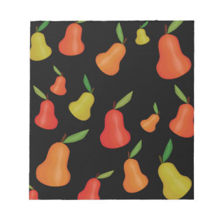 Pears pattern notepads