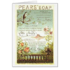Pears Soap Nature Ad Card