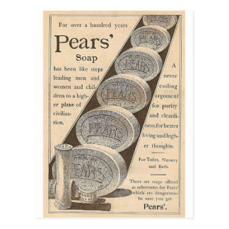 Pears' Soap Postcard