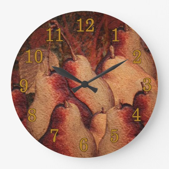 Pears Vintage Style Wall Clock
