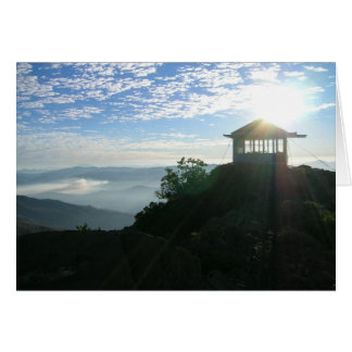 Pearsoll Peak FIre Lookout Oregon Card