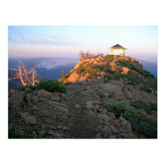 Pearsoll Peak Fire Lookout Postcard