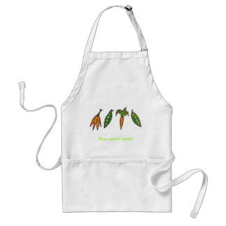 Peas and Carrots Apron