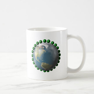 Peas and Peace On Earth Collection Coffee Mug