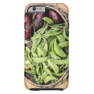 Peas and red onions tough iPhone 6 case