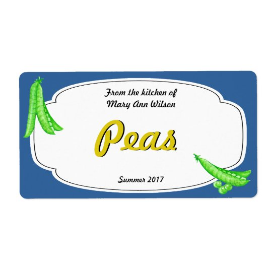 Peas Canning