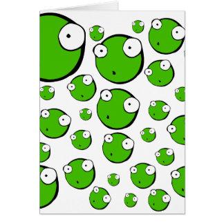 Peas Greeting Cards