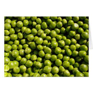 peas greeting card