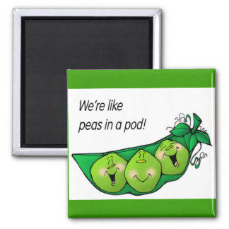peas in a pod magnet
