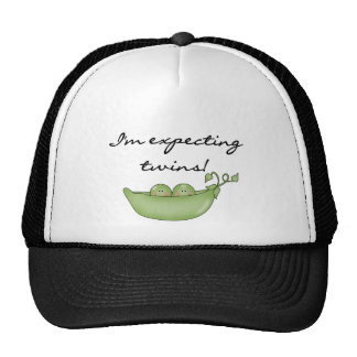 Peas in Pod Expecting Twins Trucker Hat