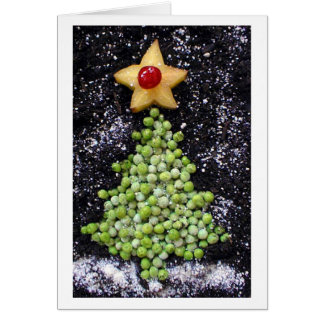 """Peas On Earth"" Greeting Card"