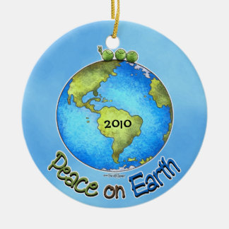 Peas On Earth Christmas Ornament