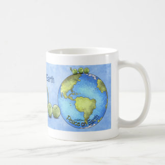 Peas on Earth - Go Green mug