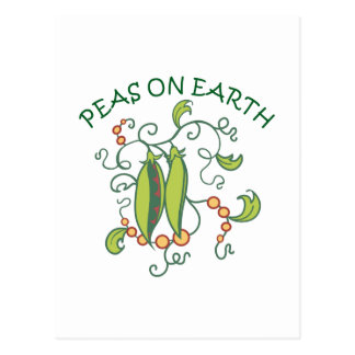 PEAS ON EARTH POST CARDS