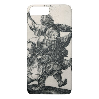 Peasant Couple Dancing by Albrecht Durer iPhone 7 Plus Case