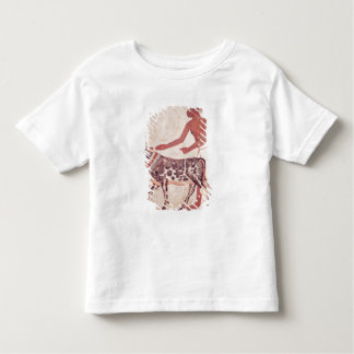 Peasant leading a cow to sacrifice t-shirt