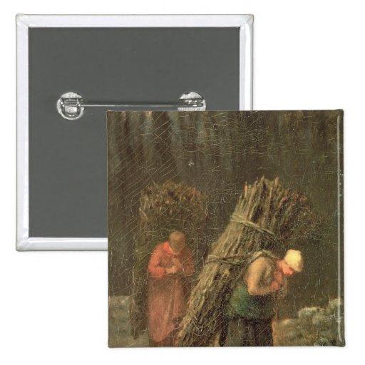Peasant Women with Brushwood, c.1858 Pins