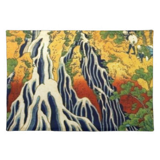 Peasants and Waterfall Placemat