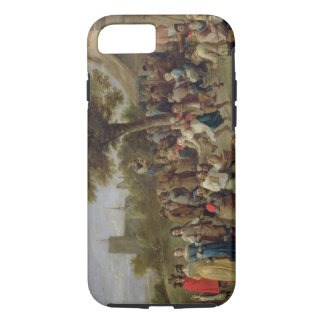 Peasants Merry-Making, c.1650 (oil on canvas) iPhone 7 Case