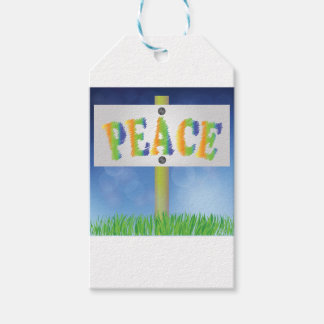 pease banner gift tags