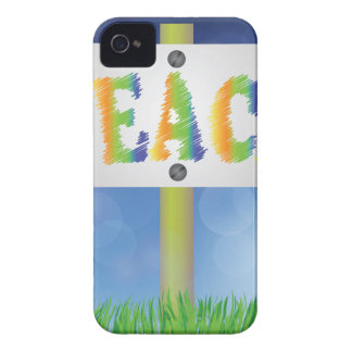 pease banner iPhone 4 cover