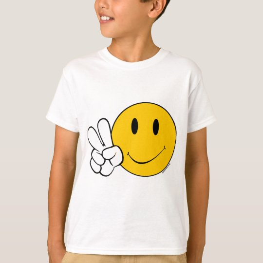 Pease Smiley Face T-Shirt