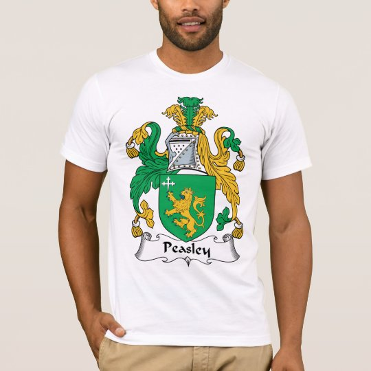 Peasley Family Crest T-Shirt