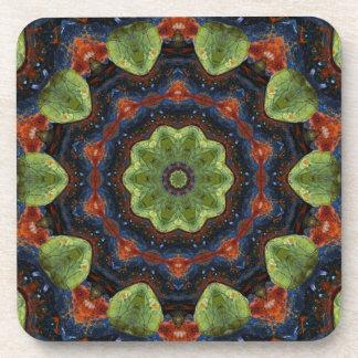 Pebble Kaleidoscope Coasers Drink Coasters