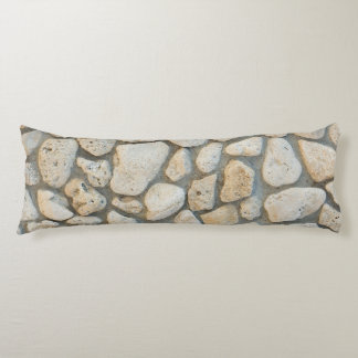 Pebble pattern body pillow