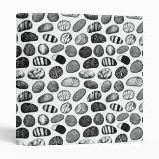 Pebble Pattern Vinyl Binder