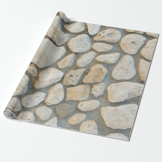 Pebble pattern wrapping paper