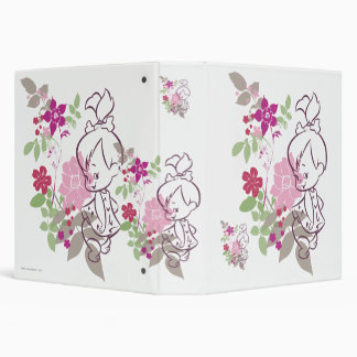 PEBBLES™ A Cutie In The Flowers 3 Ring Binder