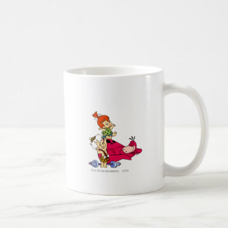 Pebbles and Bam Bam and Dino Playtime Coffee Mug