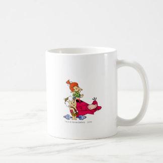 Pebbles and Bam Bam and Dino Playtime Coffee Mug