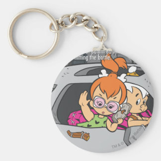 PEBBLES™ and Bam Bam Out of Control Keychain