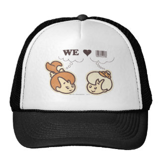 Pebbles and BAMM-BAMM™ We Love Trucker Hat