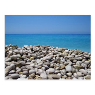 Pebbles and Sea Postcard