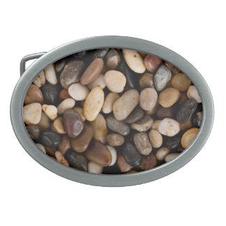 Pebbles Background Belt Buckle