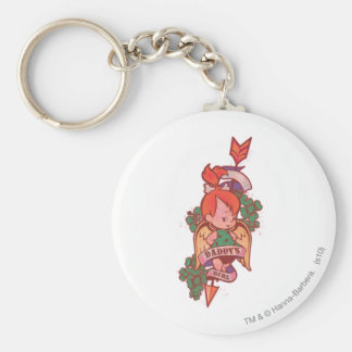 PEBBLES™ Daddy's Girl Keychain