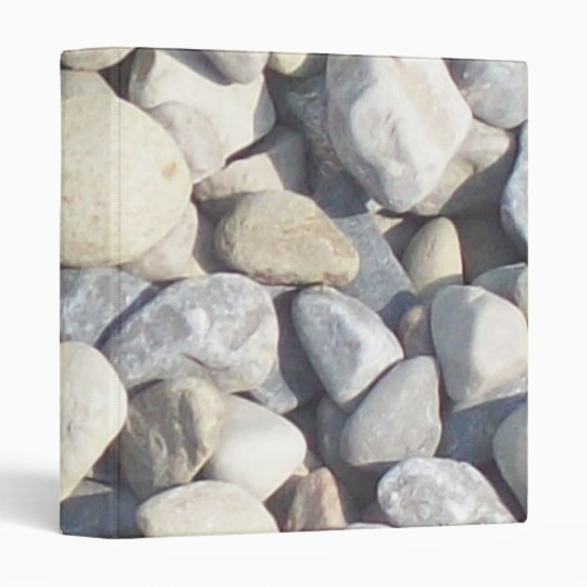 Pebbles Dash (Larger) Vinyl Binder