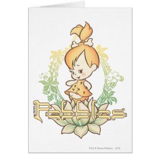 PEBBLES™ in Lotus Flower Card