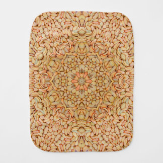 Pebbles Kaleidoscope   Burp Cloth