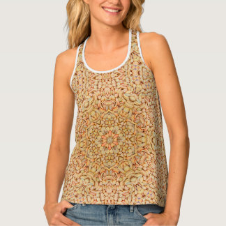 Pebbles Kaleidoscope Racerback Tank Top