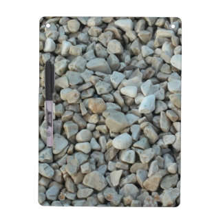 Pebbles on Beach Stone Photography Dry Erase Board