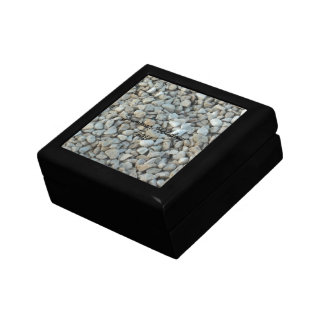 Pebbles on Beach Stone Photography Gift Box