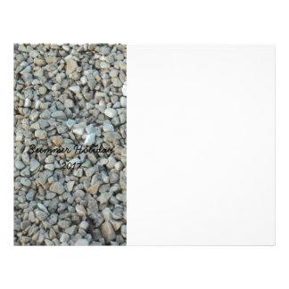 Pebbles on Beach Stone Photography Letterhead