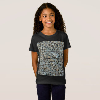 Pebbles on Beach Stone Photography T-Shirt