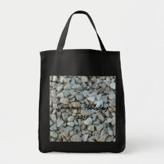 Pebbles on Beach Stone Photography Tote Bag