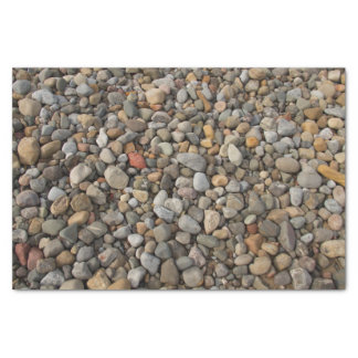 Pebbles on the Beach Tissue Paper